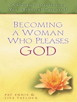 cover image of Becoming a Woman Who Pleases God