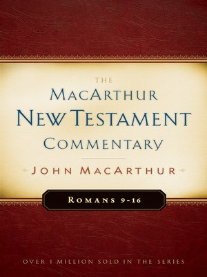 cover image of Romans 9-16 MacArthur New Testament Commentary