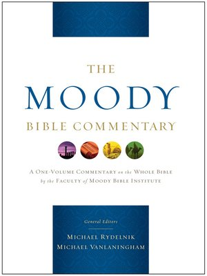 cover image of The Moody Bible Commentary