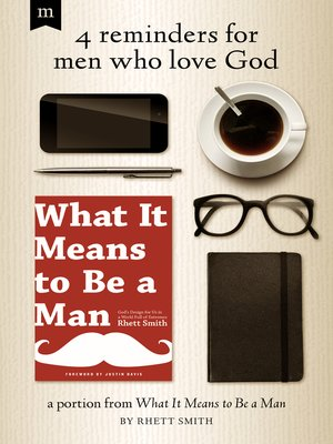 cover image of 4 Reminders for Men Who Love God