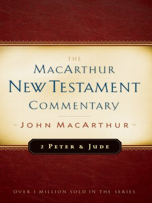 cover image of 2 Peter and Jude MacArthur New Testament Commentary
