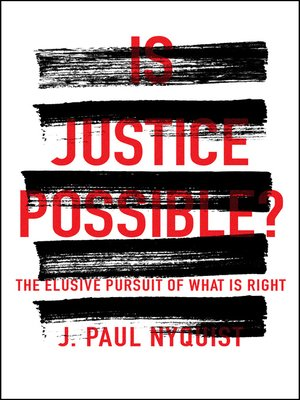 cover image of Is Justice Possible?