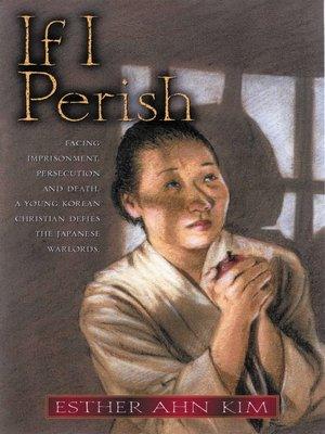 cover image of If I Perish