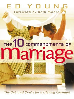 cover image of 10 Commandments of Marriage