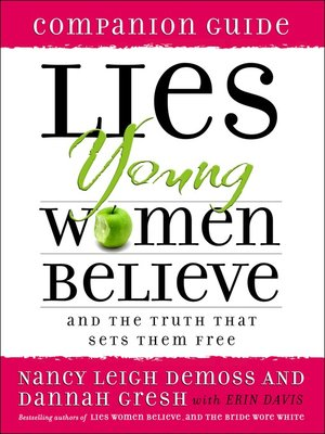 cover image of Lies Young Women Believe Companion Guide