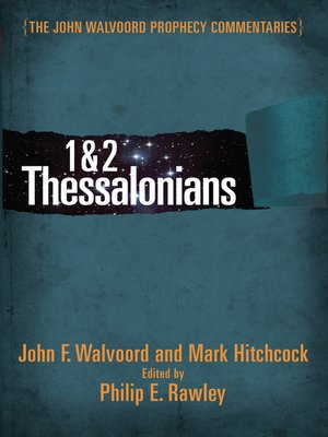 cover image of 1 & 2 Thessalonians Commentary