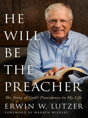 cover image of He Will Be the Preacher