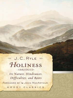 cover image of Holiness (Abridged)