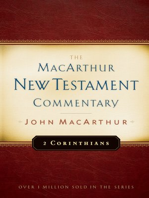 cover image of 2 Corinthians MacArthur New Testament Commentary