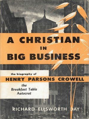 cover image of A Christian in Big Business