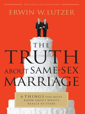 cover image of The Truth About Same-Sex Marriage