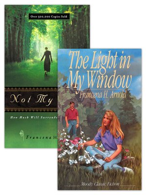 cover image of Not My Will / the Light in My Window Set of 2