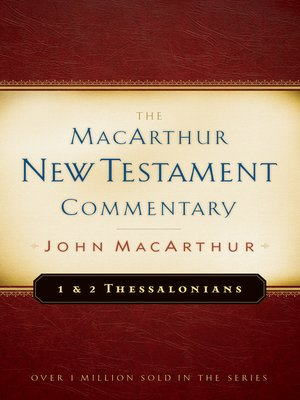 cover image of 1 & 2 Thessalonians MacArthur New Testament Commentary