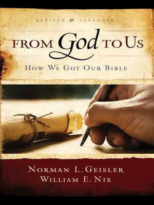 cover image of From God to Us Revised and Expanded