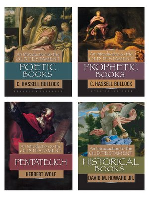 cover image of Introduction to the Old Testament, Set of Four Books (Prophetic, Poetic, Pentateuch, Historical)