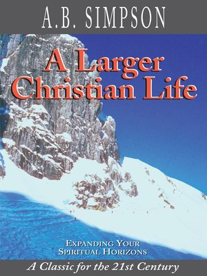cover image of A Larger Christian Life