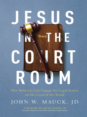 cover image of Jesus in the Courtroom