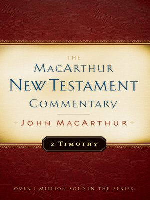cover image of 2 Timothy MacArthur New Testament Commentary