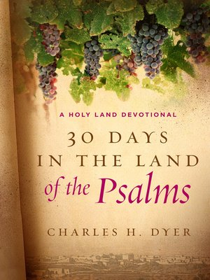 cover image of 30 Days in the Land of the Psalms