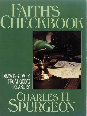cover image of Faith's Checkbook