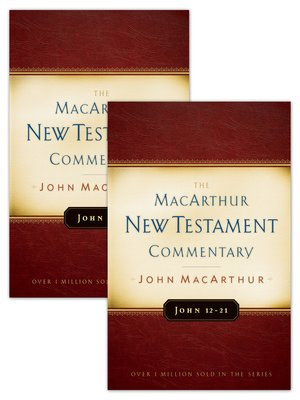 cover image of John Volumes 1 & 2 MacArthur New Testament Commentary Set