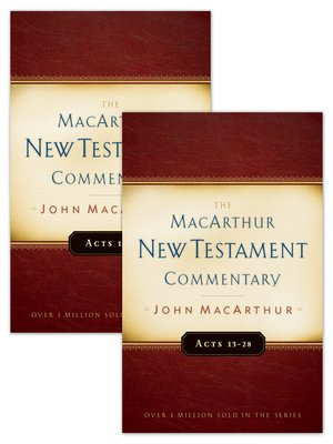 cover image of Acts 1-28 MacArthur New Testament Commentary Two Volume Set
