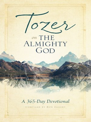 cover image of Tozer on the Almighty God