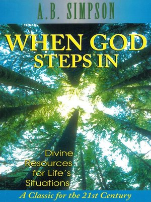 cover image of When God Steps In