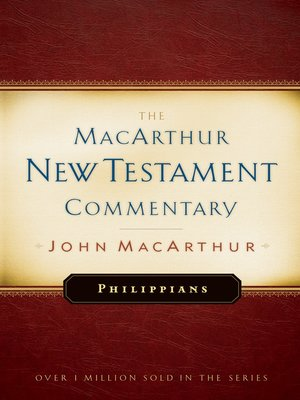 cover image of Philippians MacArthur New Testament Commentary