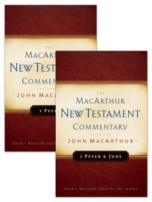 cover image of 1 & 2 Peter and Jude MacArthur New Testament Commentary Set