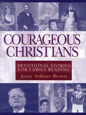 cover image of Courageous Christians