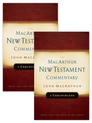 cover image of 1 & 2 Corinthians MacArthur New Testament Commentary Set