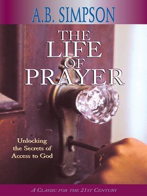 cover image of The Life of Prayer