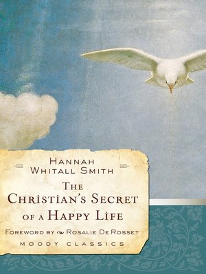 cover image of The Christian's Secret of a Happy Life