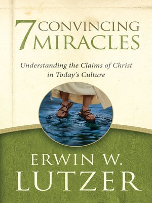 cover image of Seven Convincing Miracles