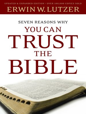 cover image of Seven Reasons Why You Can Trust the Bible
