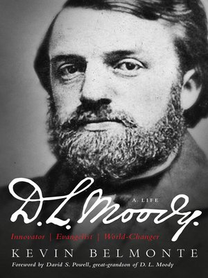 cover image of D.L. Moody--A Life