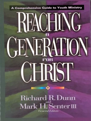 cover image of Reaching a Generation for Christ