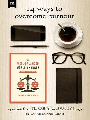 cover image of 14 Ways to Overcome Burnout