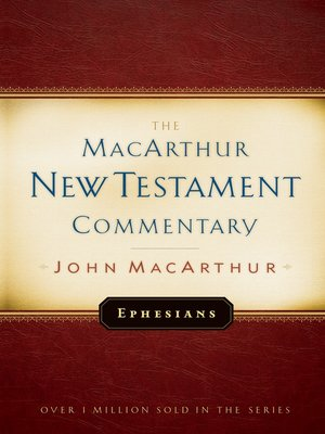 cover image of Ephesians MacArthur New Testament Commentary