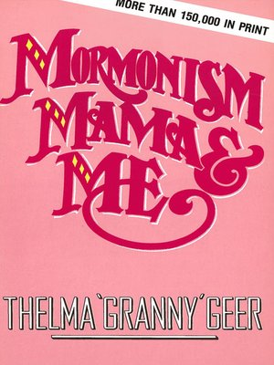 cover image of Mormonism Mama and Me