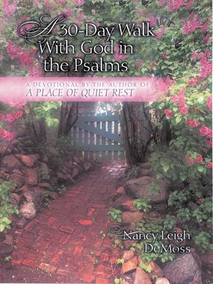 cover image of A 30-Day Walk with God in the Psalms