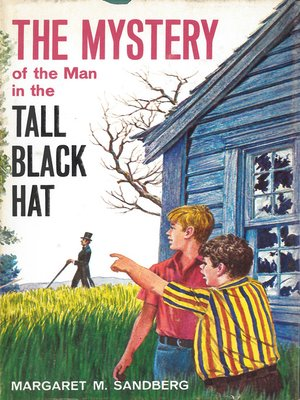 cover image of The Mystery of the Man in the Tall Black Hat