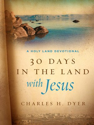 cover image of 30 Days in the Land with Jesus