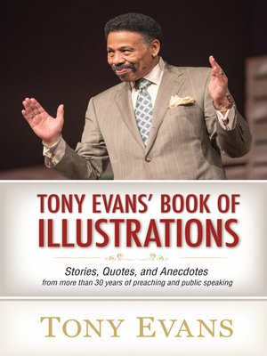 cover image of Tony Evans' Book of Illustrations