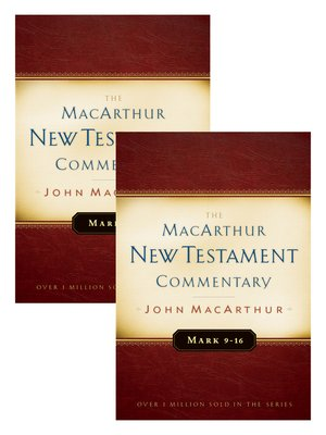 cover image of Mark 1-16 MacArthur New Testament Commentary Two Volume Set