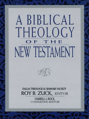 cover image of A Biblical Theology of the New Testament