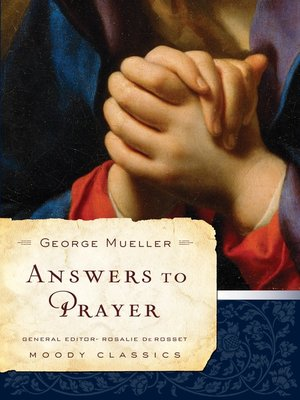 cover image of Answers to Prayer