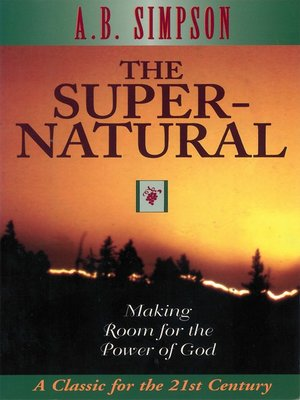 cover image of The Supernatural