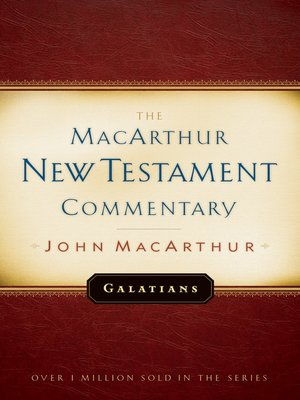 cover image of Galatians MacArthur New Testament Commentary